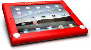 Etch-a-sketch iPad