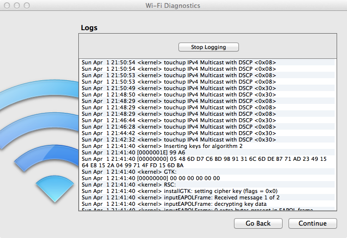 how to run network diagnostics on an imac